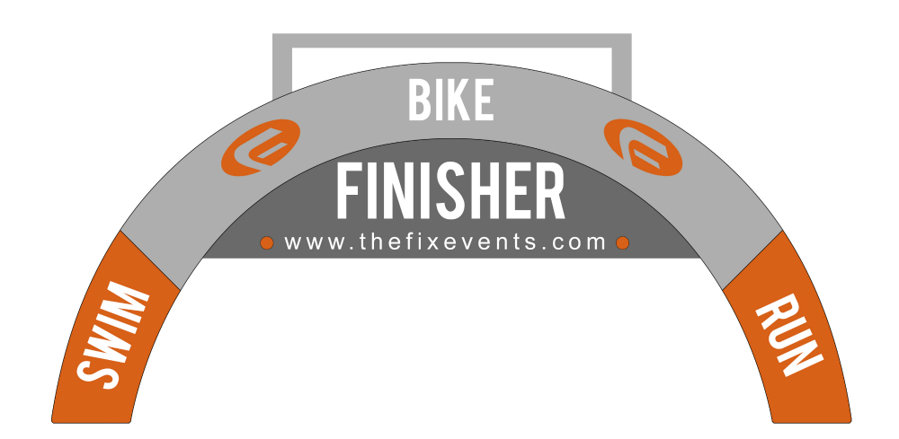 Fix Event Triathlon Medal