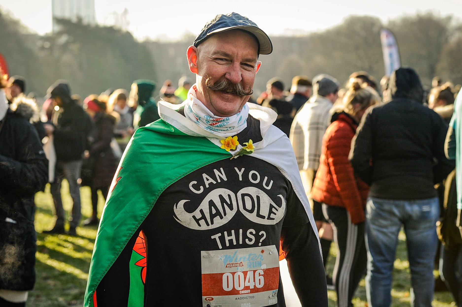 The Cardiff 5k and 10k Winter Warmer Run Bute Park