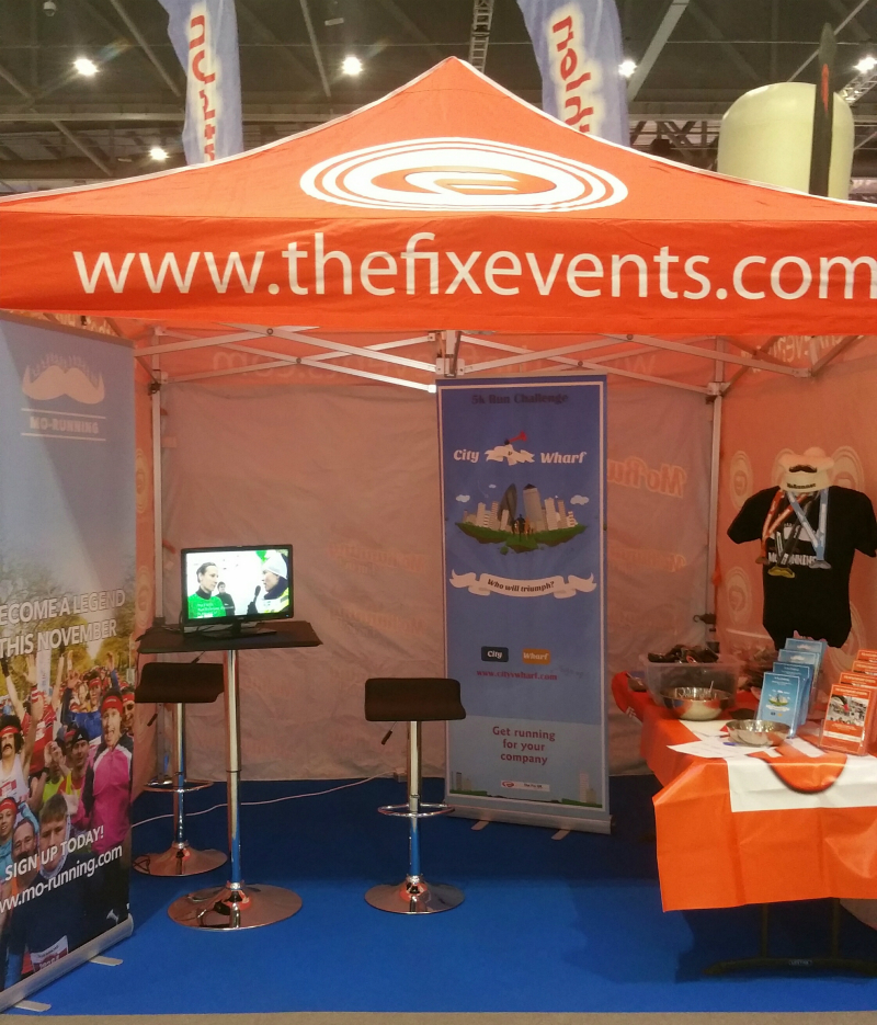 Fix Events at the London Marathon Expo