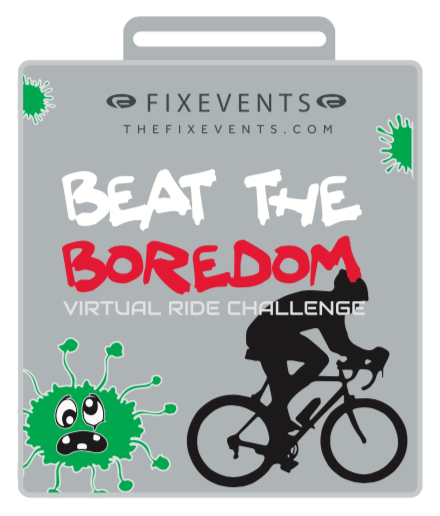 Beat the boredom cylce ride challenge