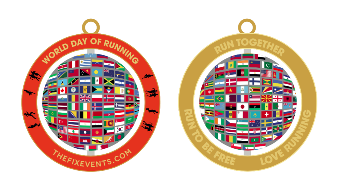 world day of running virtual run challenge 5k 10k half marathon