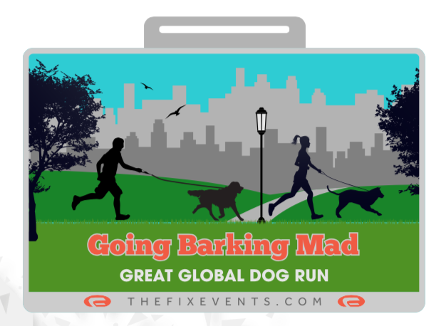 Going Barking Mad Great Global Dog Run Challenge