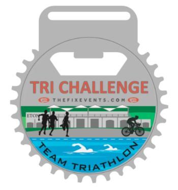 TRI Challenge Triathlon Sprint Dorney Lake triathletes