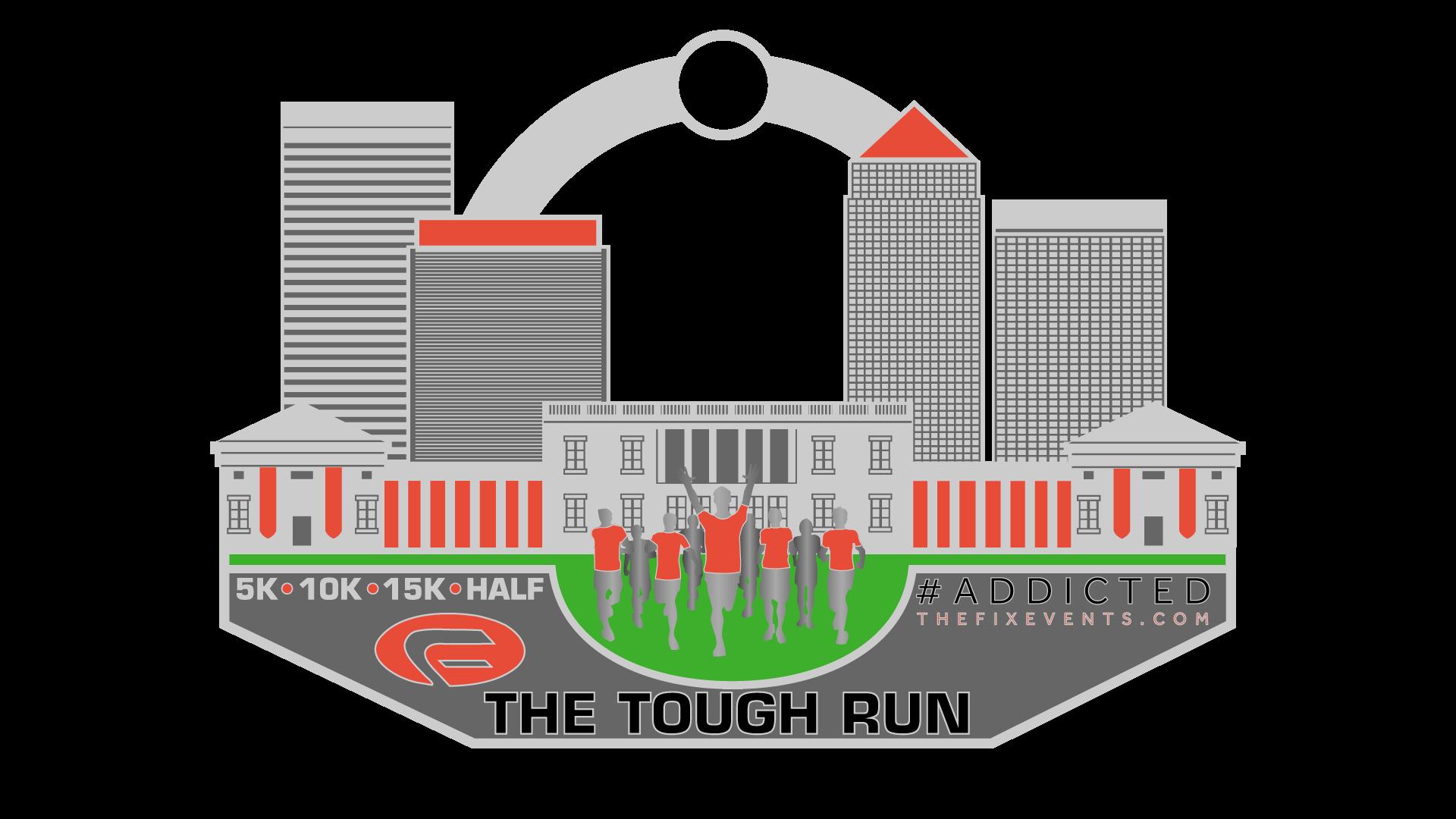 Tough Run Medal