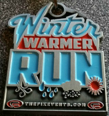The Birmingham 5k and 10k Winter Warmer Run Bute Park