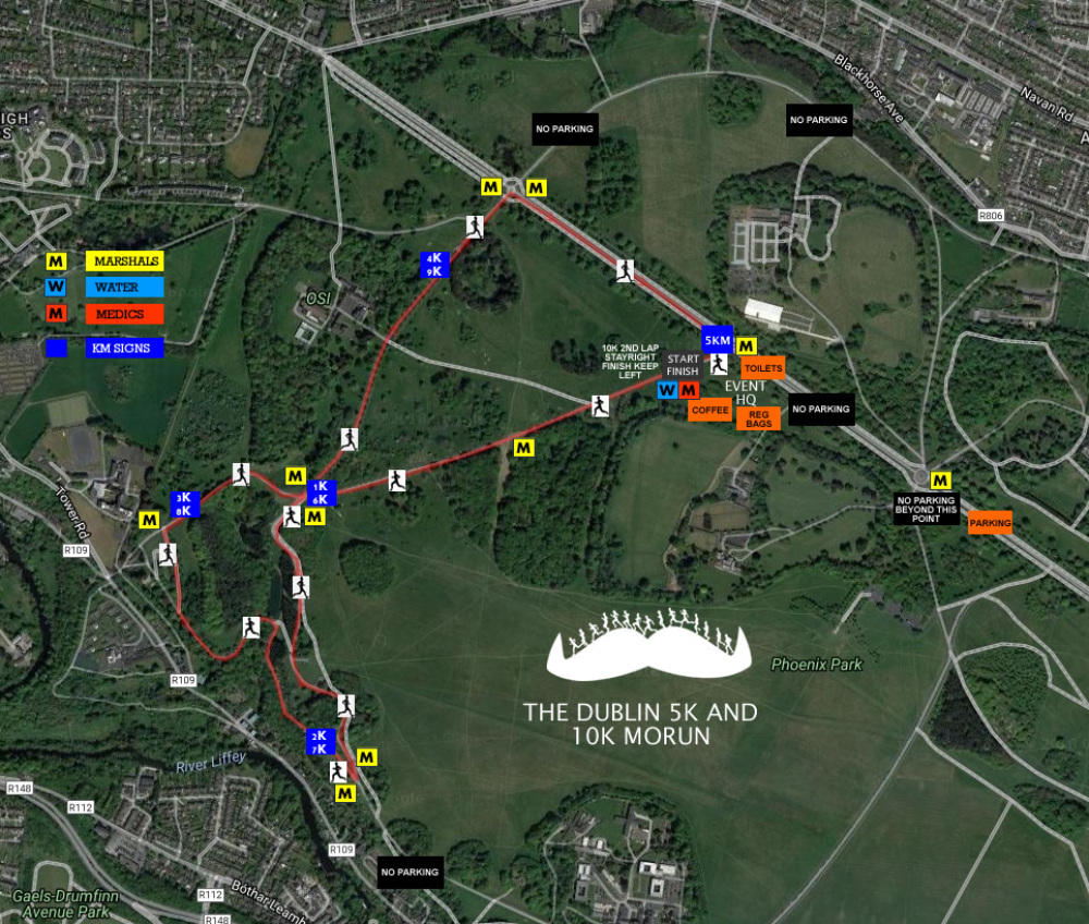 Dublin 5k 10k Mo Running Event 2018 Run For The Movember Catriona Elize Top Handle Bag Brown Race Map