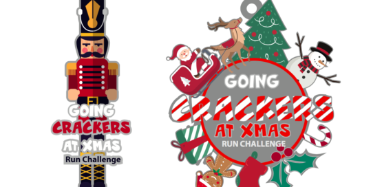 Going Crackers at Xmas Free Virtual Run Challenge