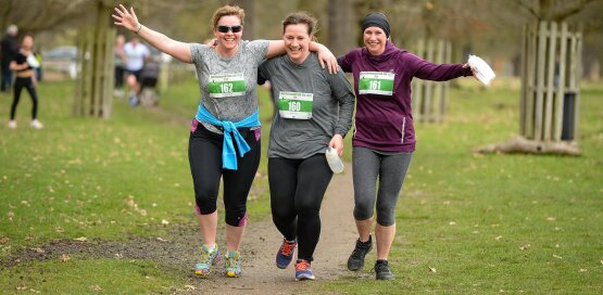 Richmond Park 5k and 10k April Run