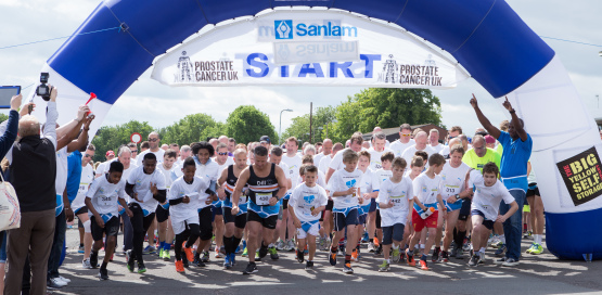 The Worcester Sanlam Go Dad Run 5K and 10K 2016