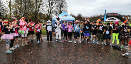 The 5k and 10k MoRun Glasgow 2016