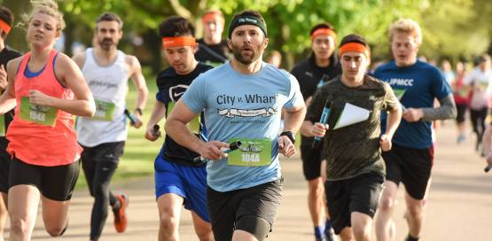 The CityvWharf 10k Team Run Relay 2019