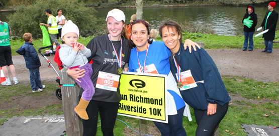 The Richmond Autumn Riverside 10k Run