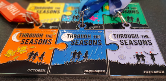 Through the Seasons April Virtual Run Challenge