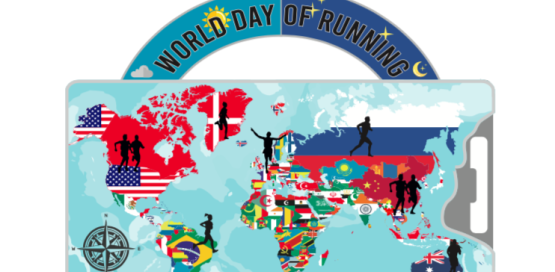 World Day of Running Summer Virtual Run Challenge
