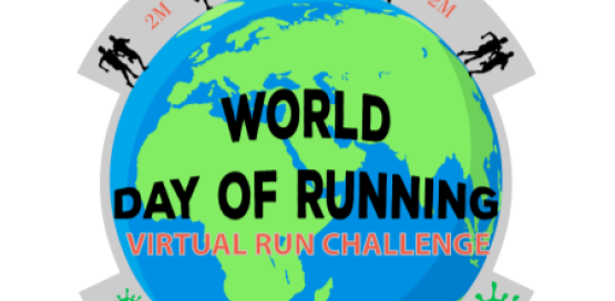World Day of Running Virtual Run Challenge
