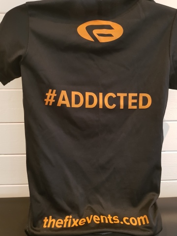 Fix Addicted Black Tech T-Shirts