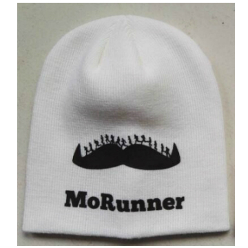 MoRun Beanies White NO Bobble
