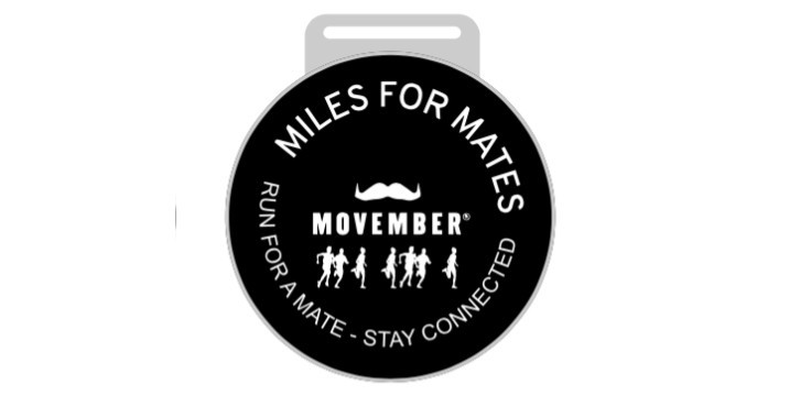 Movember'S Miles For Mates Medal