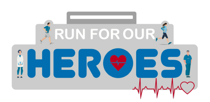 Run For Heroes Medal 2020