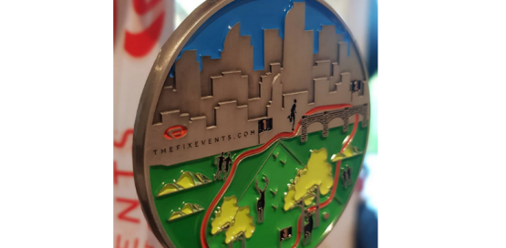 CheckPoint Challenge Run Medal