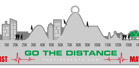 Virtual Go the Distance Run Challenge Medal